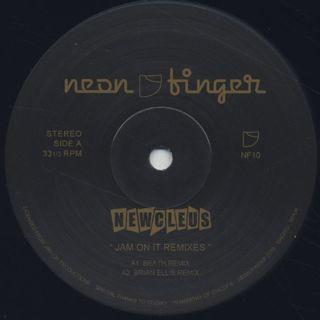 Newcleus / Jam On It Remixes back