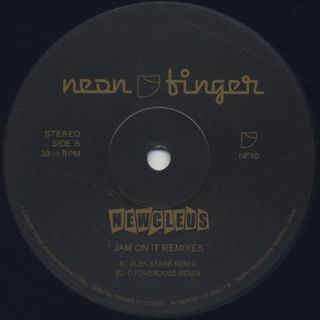 Newcleus / Jam On It Remixes label