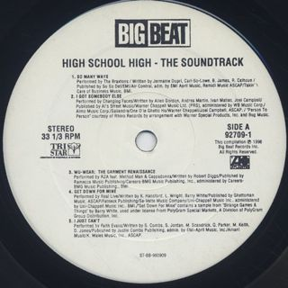 O.S.T. / High School High (2LP) label