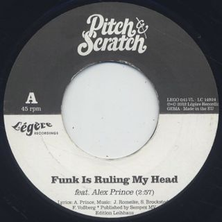 Pitch & Scratch / Funk Is Ruling My Head front