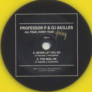 Professor P & DJ Akilles / All Year, Every Year. Spring label