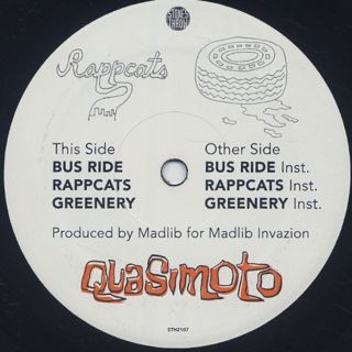 Quasimoto / Bus Ride label