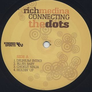 Rich Medina / Connecting The Dots label