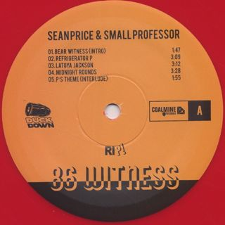Sean Price & Small Professor / '86 Witness label