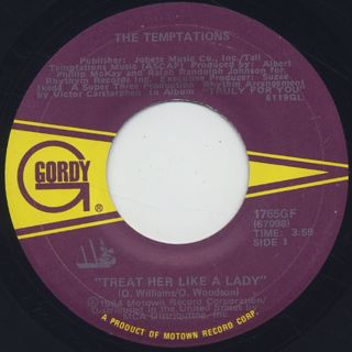 Temptations / Treat Her Like A Lady