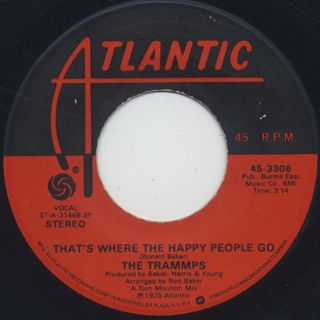 Trammps / That's Where The Happy People Go back