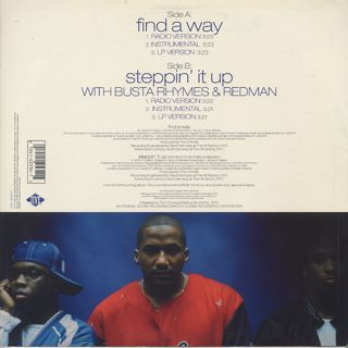 A Tribe Called Quest / Find A Way c/w Steppin' It Up back