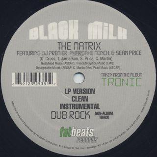 Black Milk / Give The Drummer Sum label