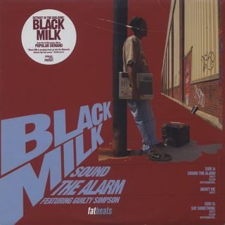 Black Milk / Sound The Alarm front