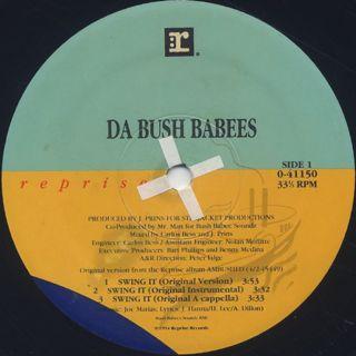 Da Bush Babees / Swing It label