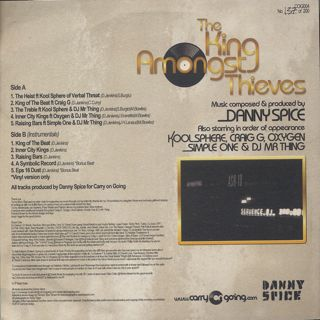 Danny Spice / The King Amongst Thieves back