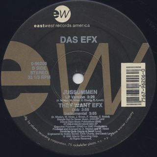 Das Efx / They Want Efx c/w Jussummen back