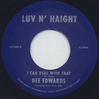 Dee Edwards / Why Can't There Be Love back