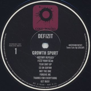 Defizit / Growth Spurt label