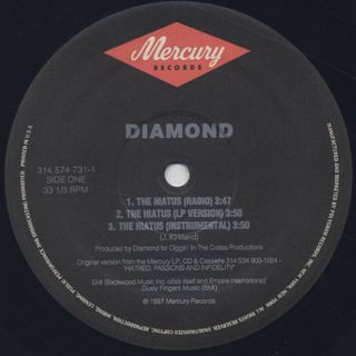 Diamond / The Hiatus label