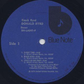 Donald Byrd / Black Byrd label