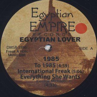 Egyptian Lover / 1985 label
