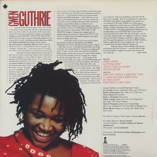 Gwen Guthrie / S.T. back