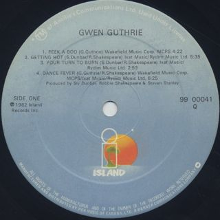 Gwen Guthrie / S.T. label