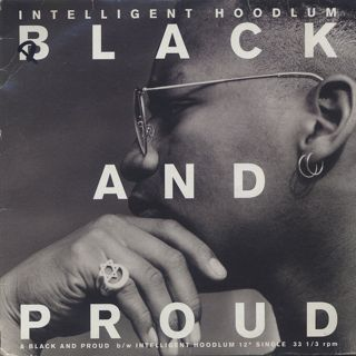 Intelligent Hoodlum / Black And Proud front