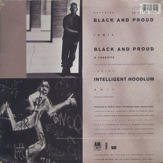 Intelligent Hoodlum / Black And Proud back