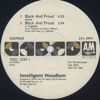 Intelligent Hoodlum / Black And Proud label