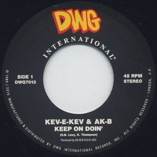 Kev-E-Kev & AK-B / Listen To The Man c/w Keep On Doin back