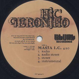 Mic Geronimo / Masta I.C. label