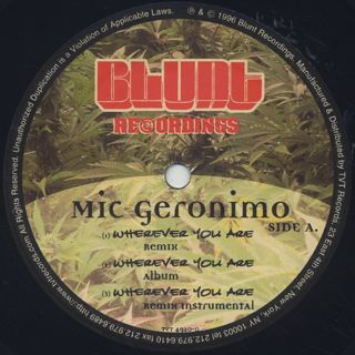 Mic Geronimo / Wherever You Are label