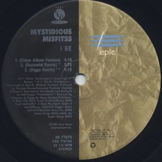 Mystidious Misfitss / I Be label