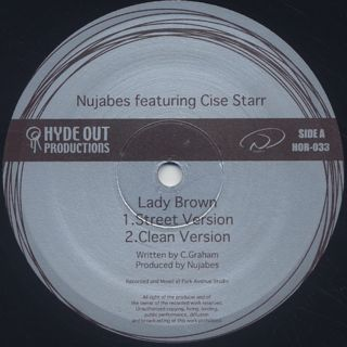 Nujabes featuring Cise Starr / Lady Brown label