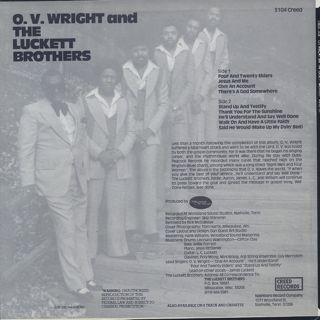 O.V.Wright & The Luckett Bros. / 4&20 Elders back