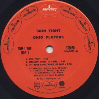 Ohio Players / Skin Tight label
