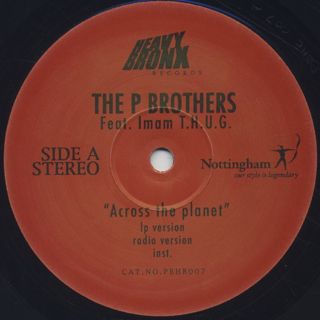 P Brothers / Across The Planet back