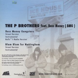 P Brothers feat. Boss Money / Boss Money Gangsters back