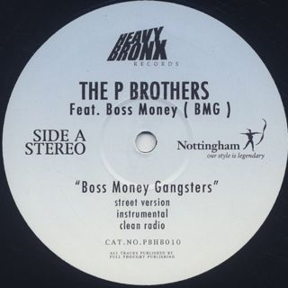 P Brothers feat. Boss Money / Boss Money Gangsters label