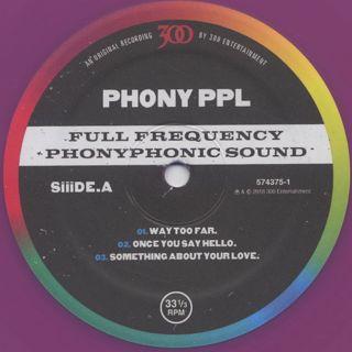 Phony PPL / Mo'za-ik. (2LP) label