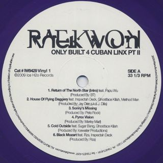 Raekwon / Only Built 4 Cuban Linx... Pt. II label