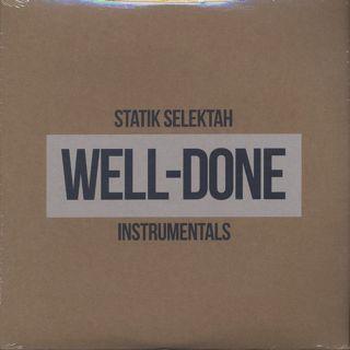 Statik Selektah / Well-Done Instrumentals