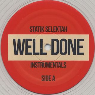 Statik Selektah / Well-Done Instrumentals label