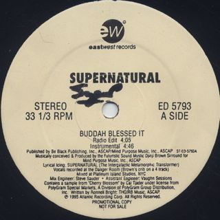 Supernatural / Buddah Blessed It back