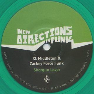 XL Middleton & Zackey Force Funk / Shotgun Lover c/w DJ Spinna / Dig