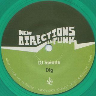 XL Middleton & Zackey Force Funk / Shotgun Lover c/w DJ Spinna / Dig back