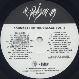 Al Dobson Jr. / Sounds From The Village Vol.2 label