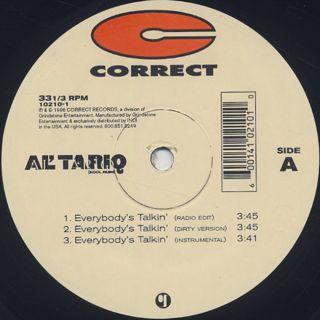 Al' Tariq / Everybody's Talkin' back