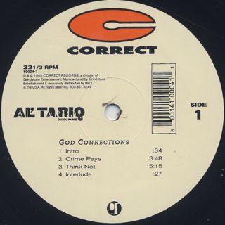 Al' Tariq / God Connections label