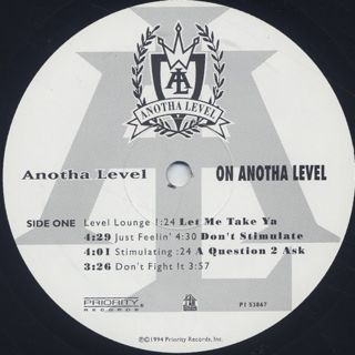 Anotha Level / On Anotha Level label