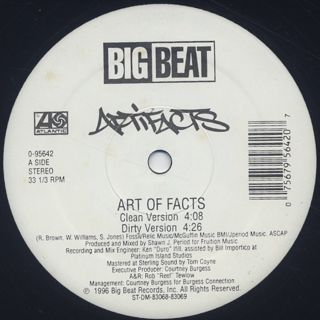 Artifacts / Art Of Facts back