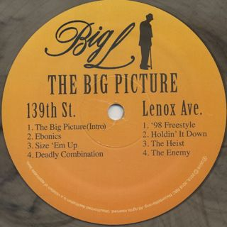Big L / The Big Picture 1974-1999 label
