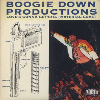 Boogie Down Productions / Love's Gonna Get'cha (Material Love) front
